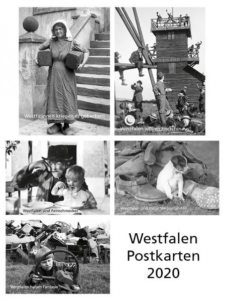 Westfalen Postkarten 2020