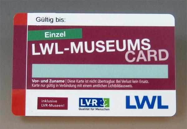 LWL-MuseumsCard, Einzel