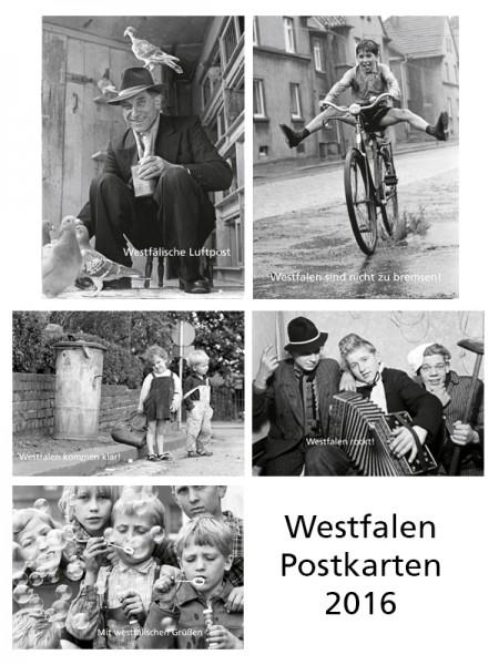 Westfalen Postkarten 2016